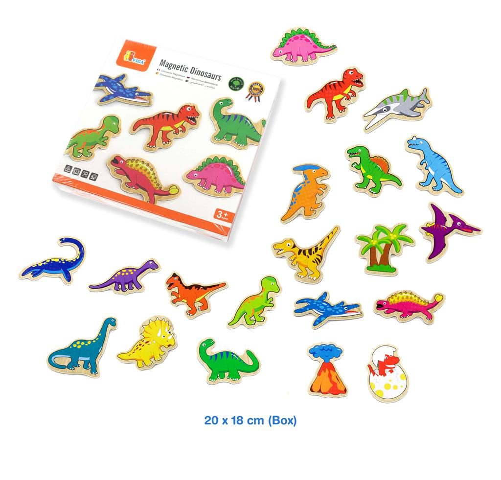 VIGA - Magnetic Dinosaurs 20pc
