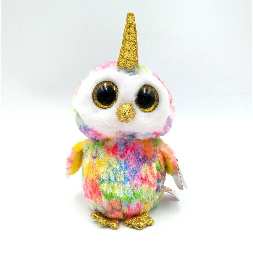 TY Beanie Boos Clip-On Key Ring - ENCHANTED - The OWL