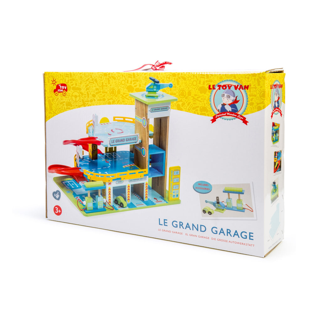 "LE TOY VAN - Wooden Toy ""Le Grand Garage"""
