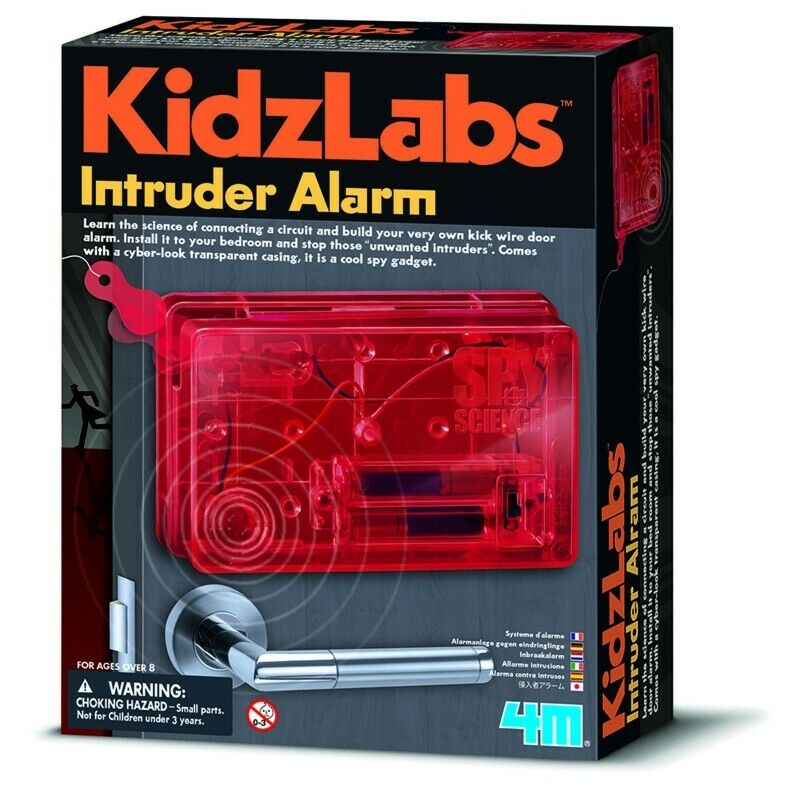 4M Kidz Lab Intruder Alarm