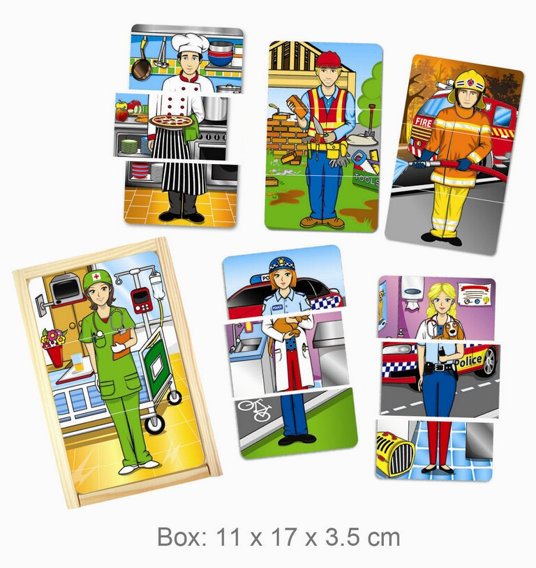 "FUN FACTORY - Dress up Kid ""My favourite Professions"""