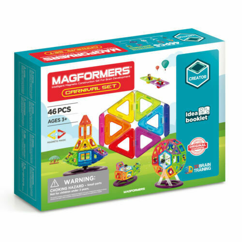 MAGFORMERS - 46pce CARNIVAL SET