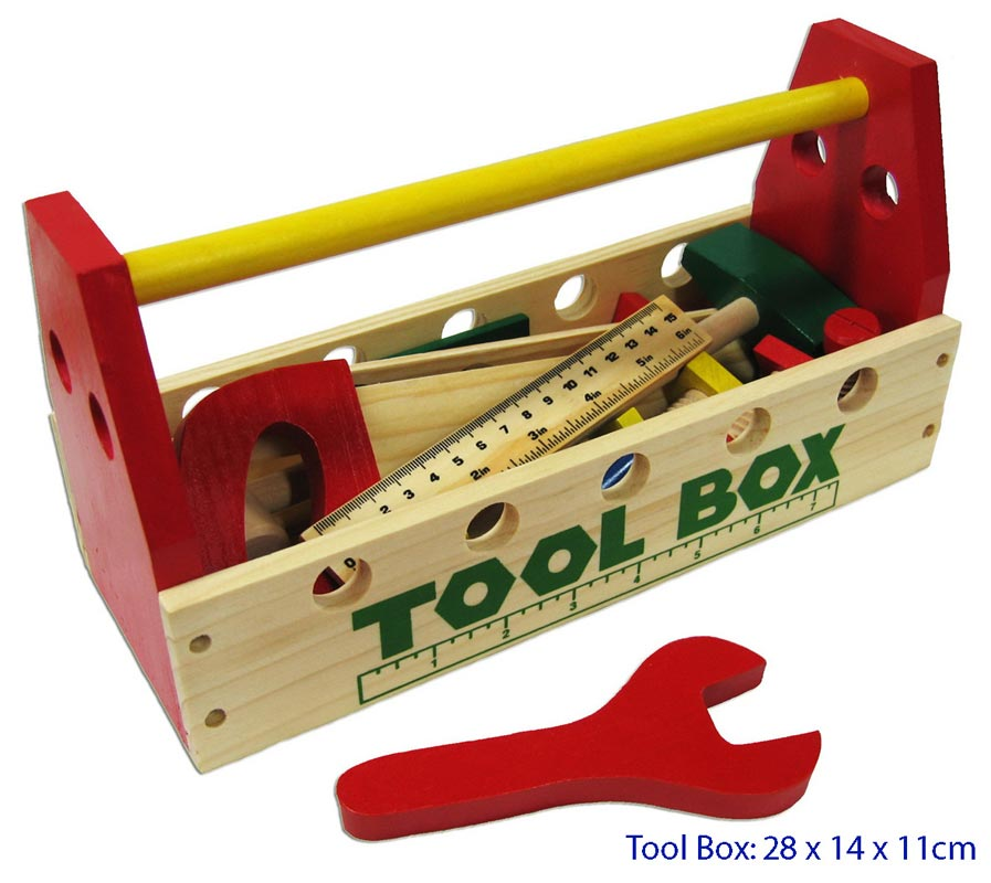FUN FACTORY - Wooden Tool Box