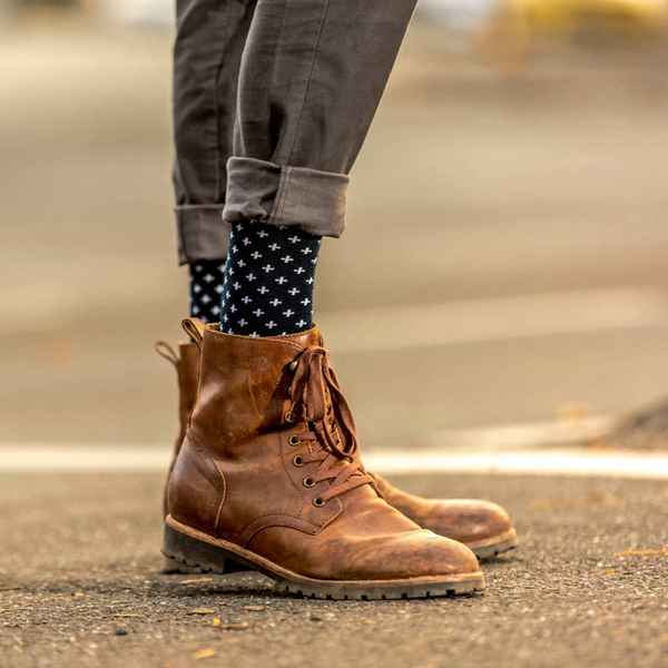 4 Ways to Incorporate Colorful Socks Into Your Outfits