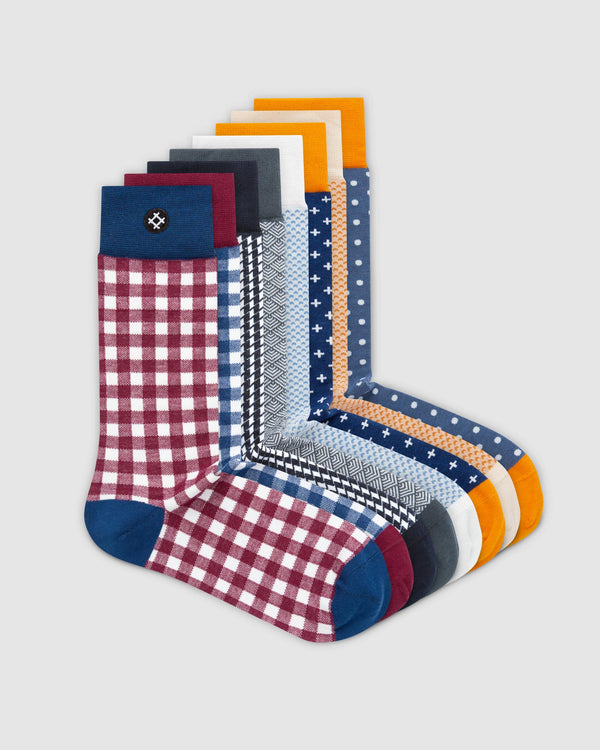 Great 8 Pack Crew Socks