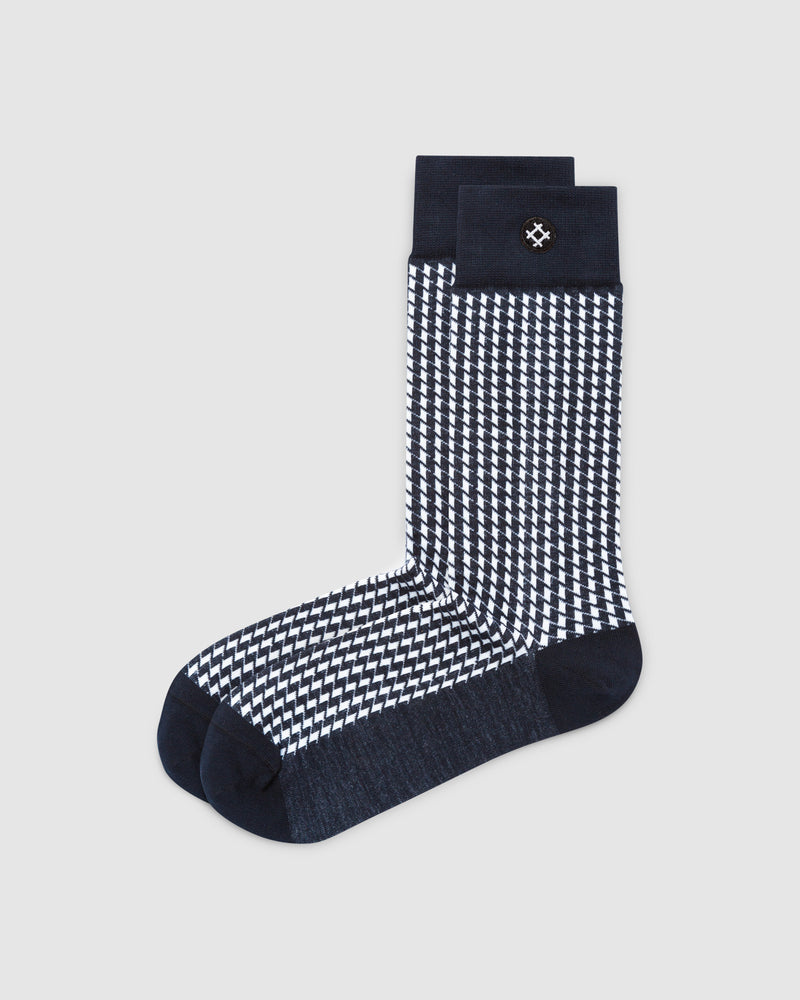 Clock on 3 Pack Crew Socks