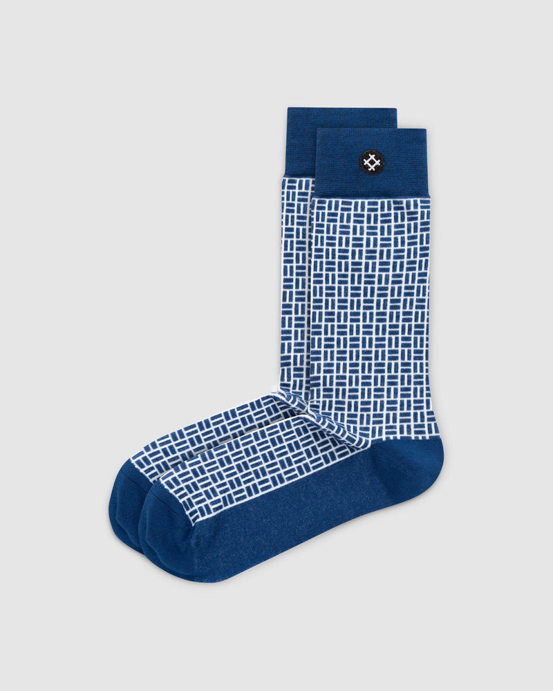 Finer 6 Pack Crew Socks