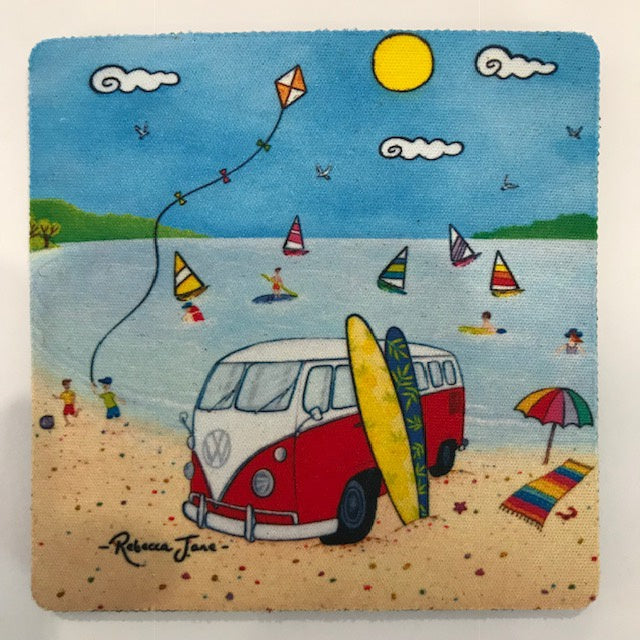 Coasters - Beach Kombi