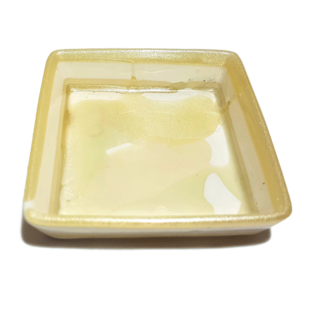 Bone not Beige Large Square Bowl