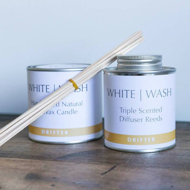 White Wash Candle - Drifter