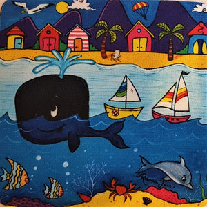 Place Mat - Whale Town