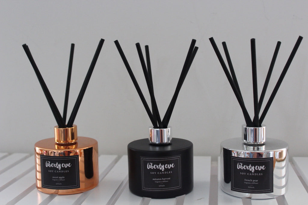 Diffuser - pineapple mango - black bottle