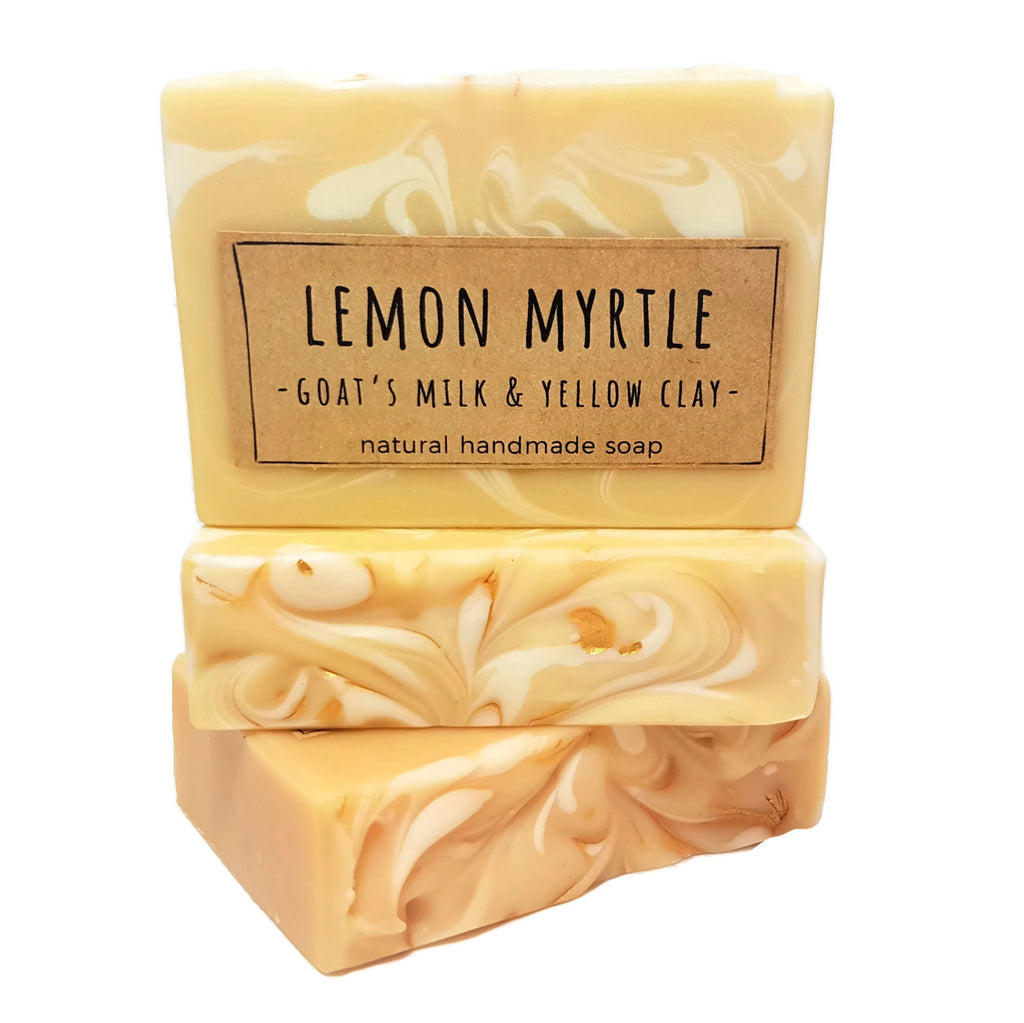 Aust. Lemon Myrtle with Goats Milk Soap