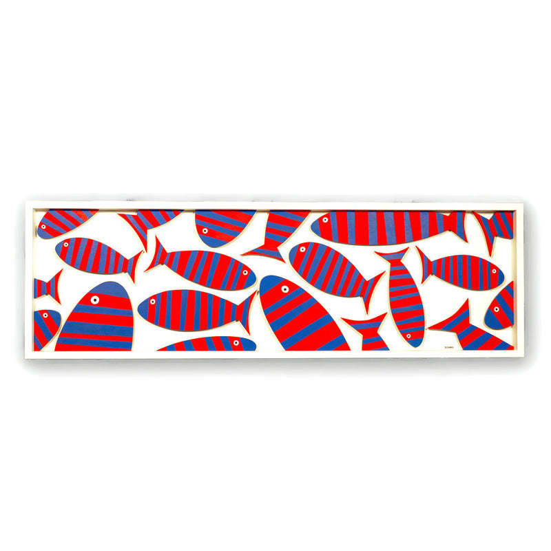 Red & Blue Fish