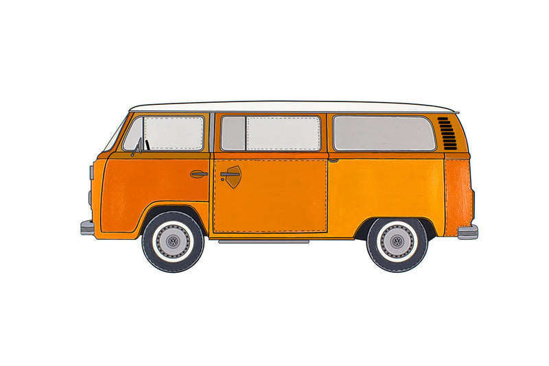 Artomobile Original - The VW Kombi (Orange)