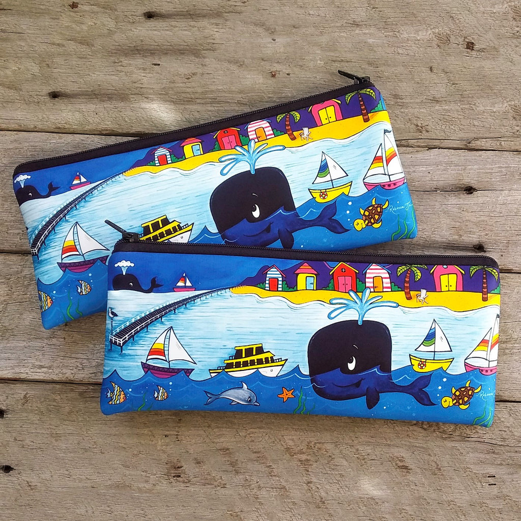Pencil Case / Pouch - Whale Town
