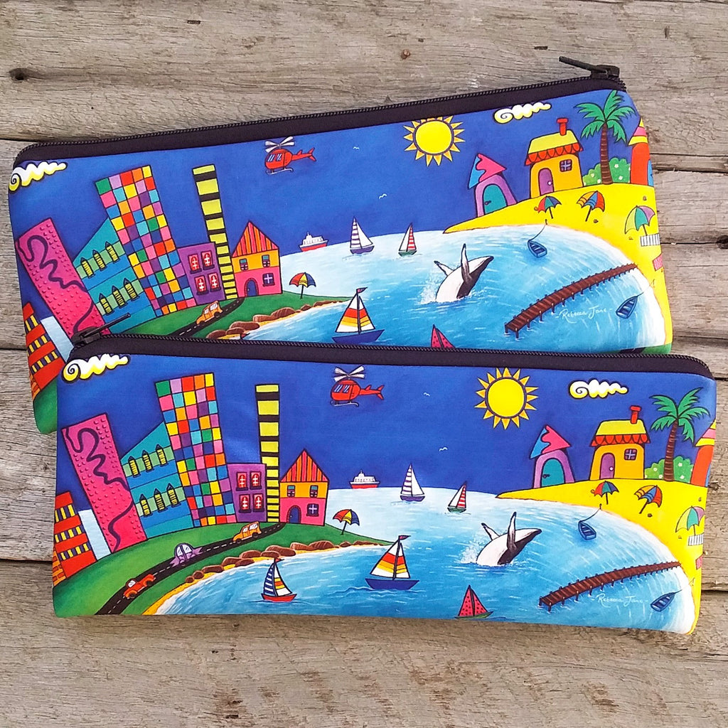 Pencil Case / Pouch - Wild Bay - Town & Country