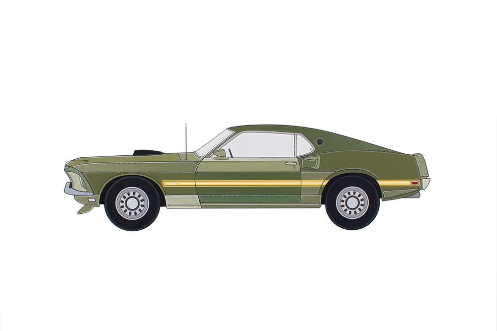 Artomobile Original - The Ford Mustang