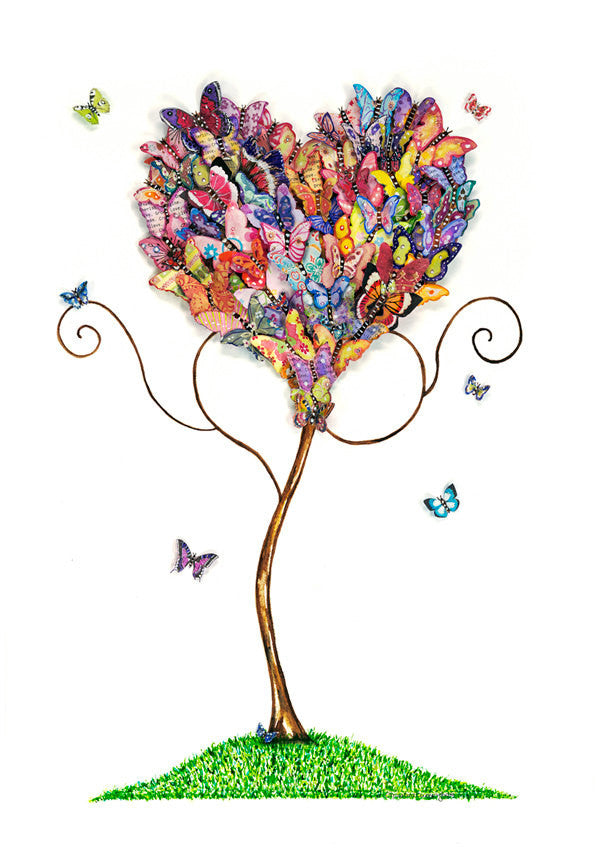 Multi-Coloured Butterfly Tree