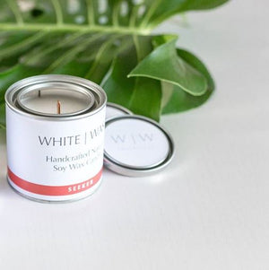 White Wash Candle - Seeker