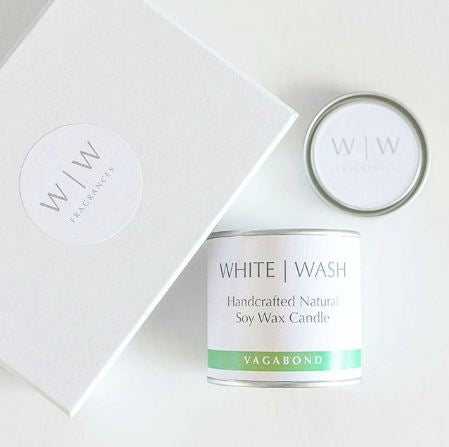 White Wash Candle - Vagabond