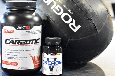 Special JAKTR! bundle offer - Carbotic + Creos for only $79.98!