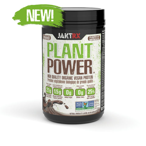 PLANT POWER ORGANIC VEGAN PROTEIN