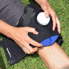 Ice Wrap Pros on Knee