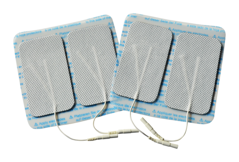 Electrode Pads 9x5 cm - 20 Pack (80 electrodes) deal -- RUN OUT SALE -- $95 incl GST