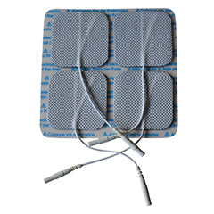8 Electrode Pads 5x5 cm ( 2 x 4  Pack Buy)
