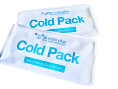 2 x Reusable Gel Heat or Ice Pack - Great for heat therapy or icing - Free Shipping