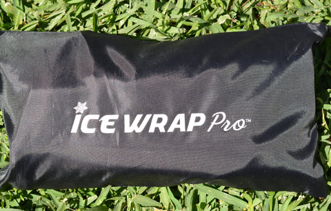The Ice Wrap Pro with Medical Ice Bag and Gel Ice Pack - The Best In Injury Treatment