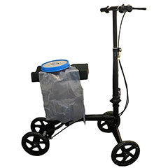 Knee walker with cast cover