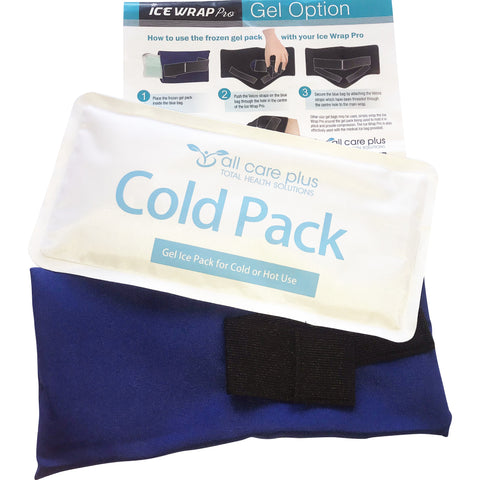 The Ice Wrap Pro with Reusable Hot/Cold Gel pack - The Best In Injury Treatment