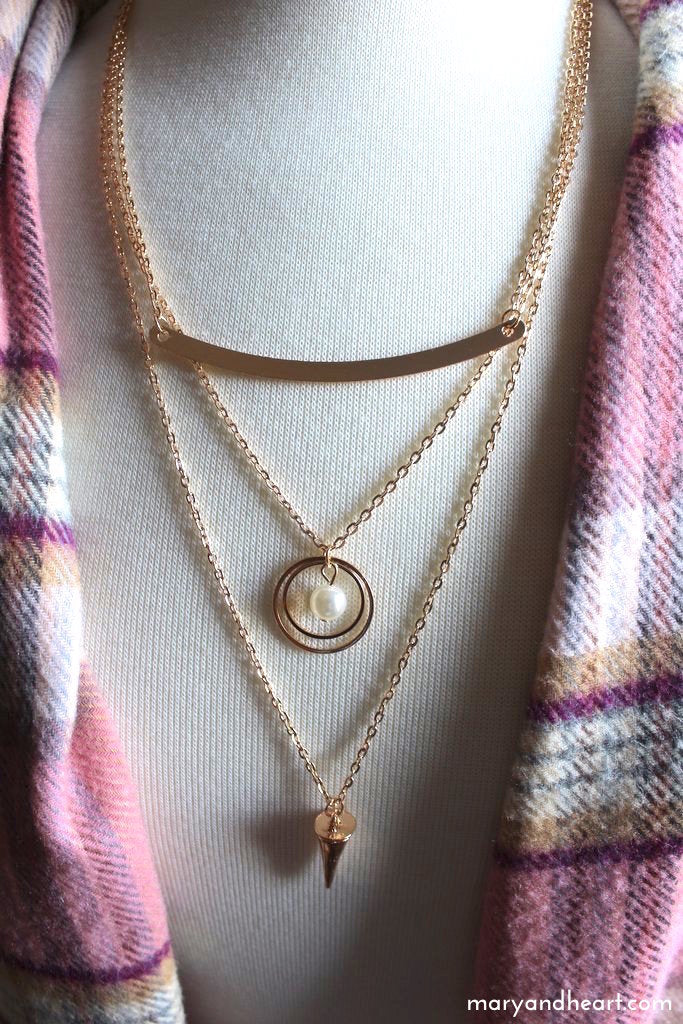 Gina Layered Chain Necklace