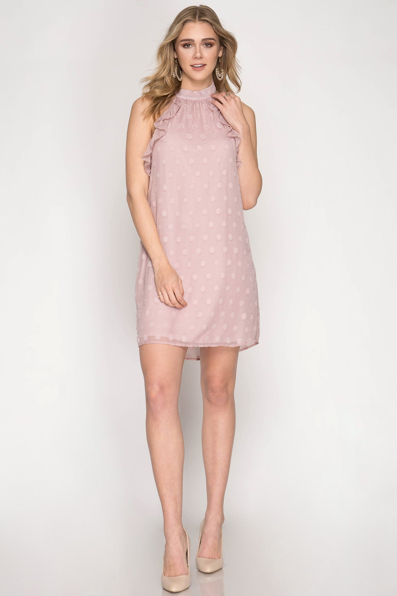 Maria Dress in Rose