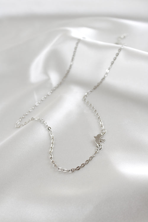 Raphaela Chain Necklace in Silver