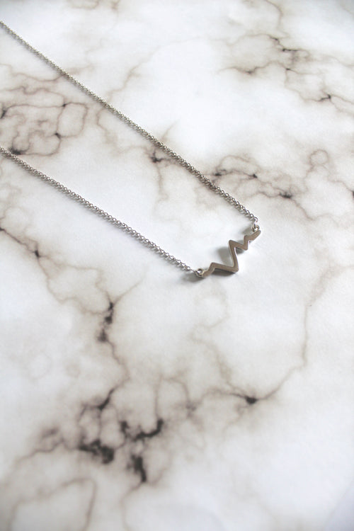 Heartbeat Chain Necklace