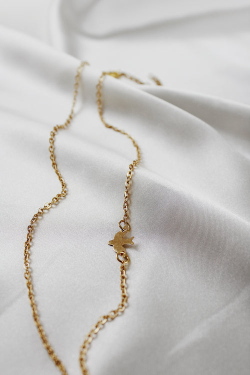 Raphaela Chain Necklace in Gold