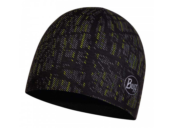 Buff Gorro Reversible Microfiber Hat Reflective R-Throwies Black