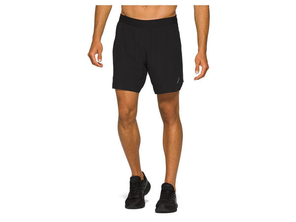 Short Deportivo Asics Road 2N1 7IN Caballero Black