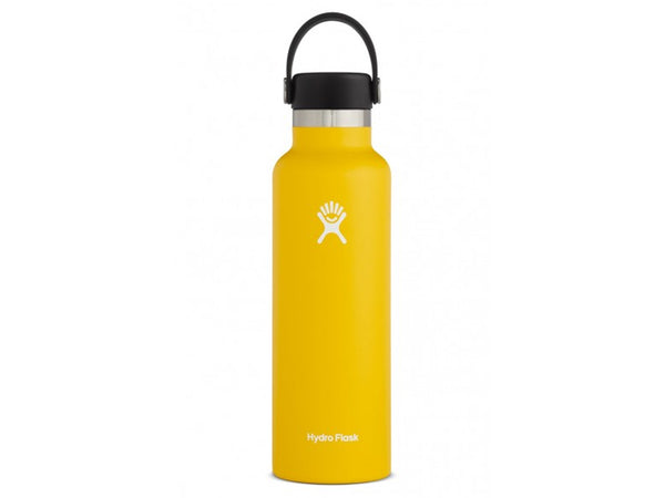 Botella Térmica Hydro Flask STD Mouth Flex 21 OZ Yellow