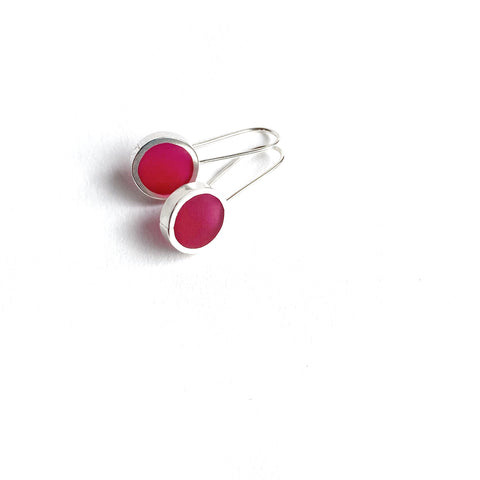 This Year Earrings medium magenta