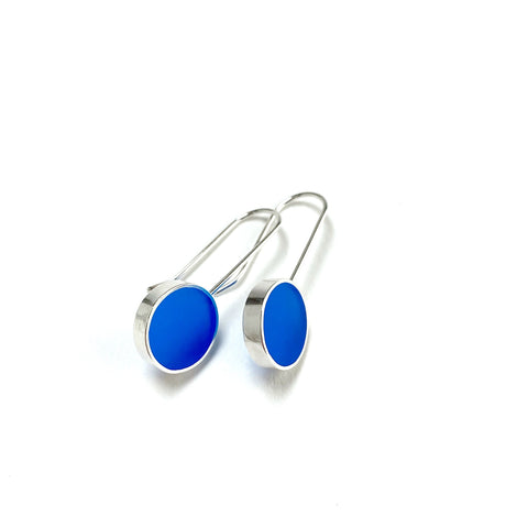 Don't Stop Earrings blue