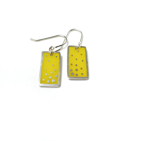 Dashed Earrings yellow