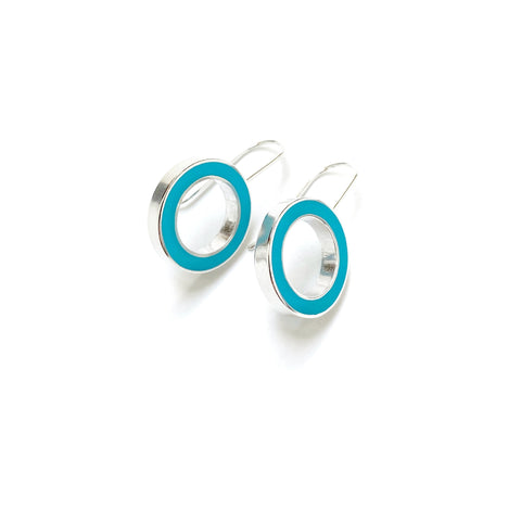 It's Okay Earrings scuba blue/turquoise