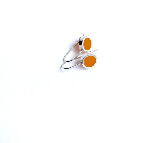 This Year Earrings small orange