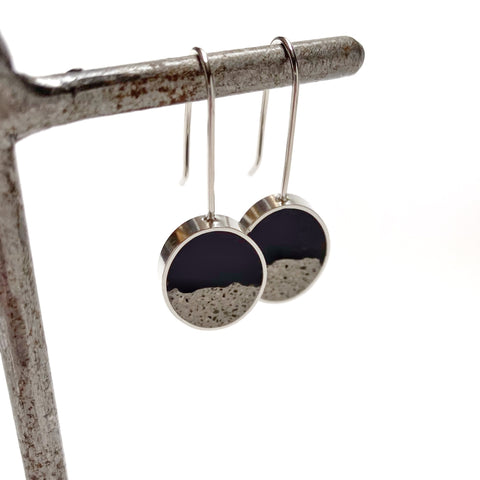 Terrain Earrings black