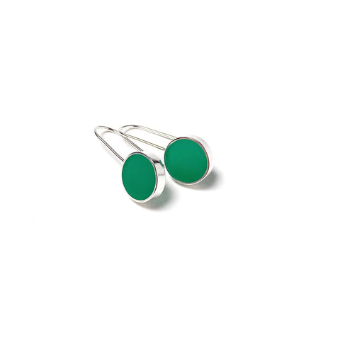 Don't Stop Earrings green