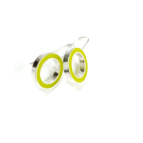 It's Okay Earrings chartreuse